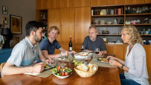 Adnan Jafar, Bruno Alexander, Wolfram Koch und Juliane Köhler